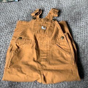 Boys 3T carhartt overalls